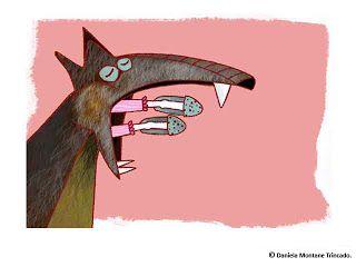 Ilustraciones Daniela Montané Trincado LA CAPERUCITA ROJA