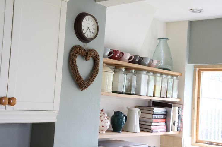 Modern Country Style: Case Study: Farrow and Ball White Tie