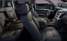 Heated and Cooled Seats of the 2014 GMC Yukon Denali SUV