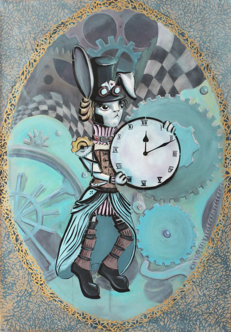 Every time - rabbit - clock - time - casino - luck