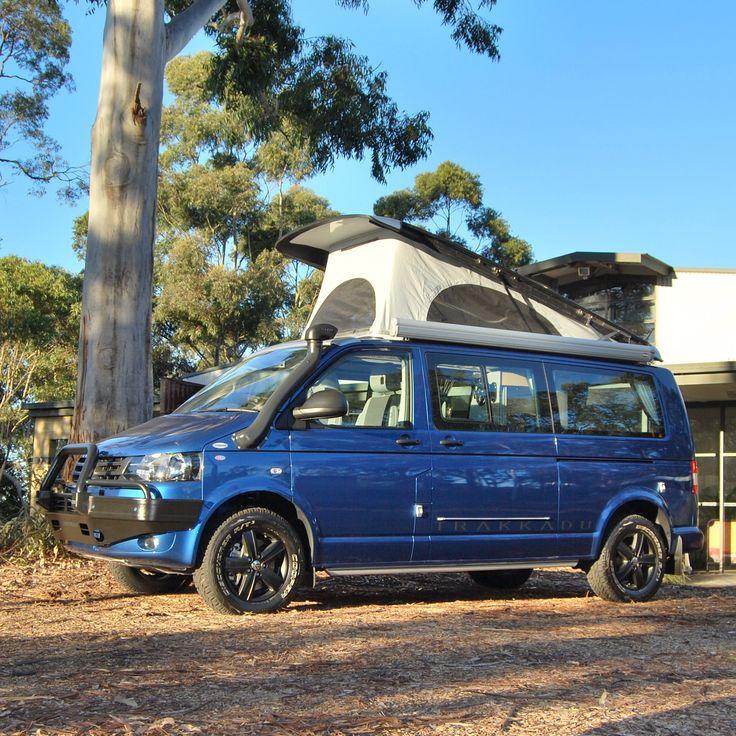 Trakka Trakkadu pop top campervan based on Volkswagen T5 Transporter