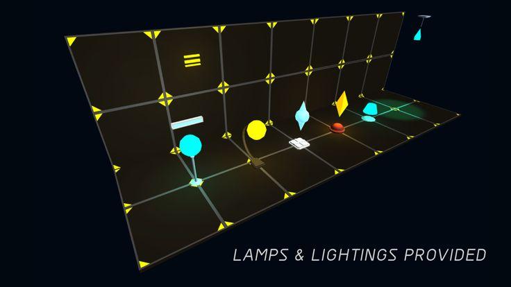 3D Modular Sci-Fi Environment Pack on Unity Asset Store 8