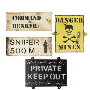 army bedroom wall signs