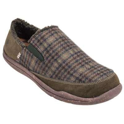Acorn Shoes: Men's Wearabout Moc Moss 50049 MOS Shoes - Acorn Slippers - Brands