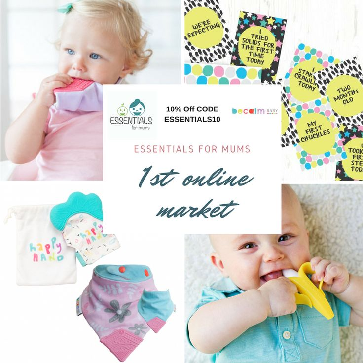 @becalmbaby you will find perfect teething products for your baby. Enjoy 10%off on our online market using code ESSENTIALS10