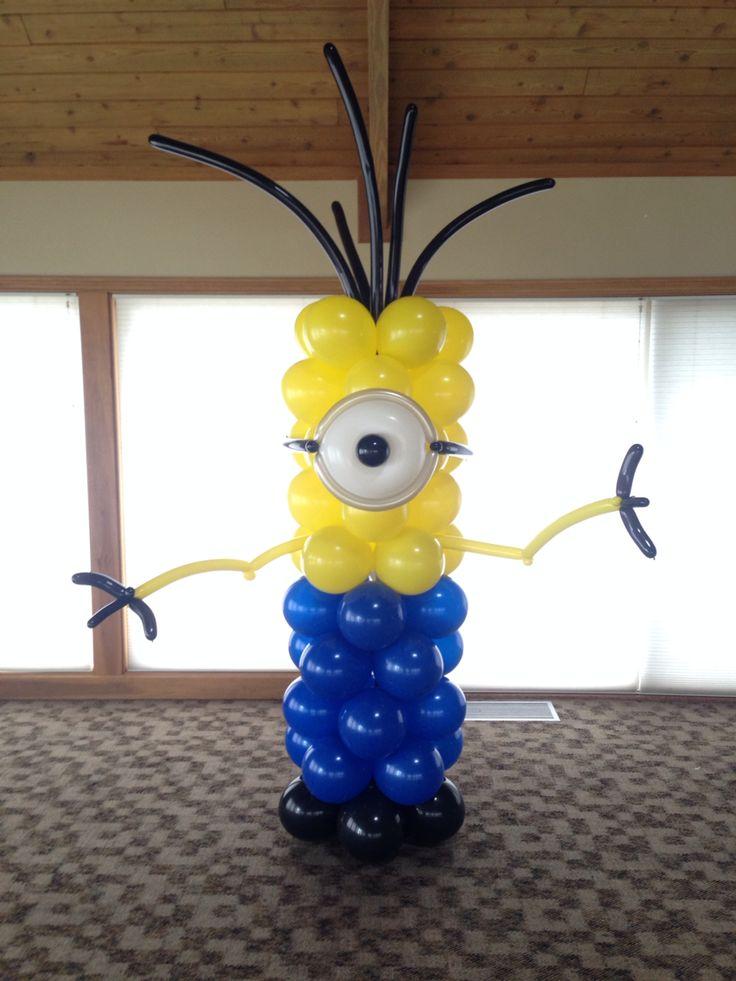 minions balloon decor