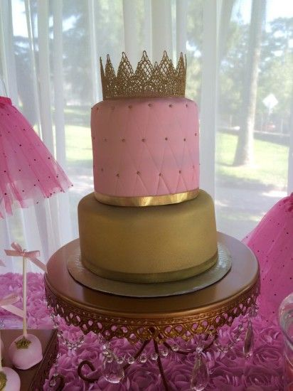 little princess baby shower cake, Tutu and Tiara Baby Shower, tutu baby shower decorations