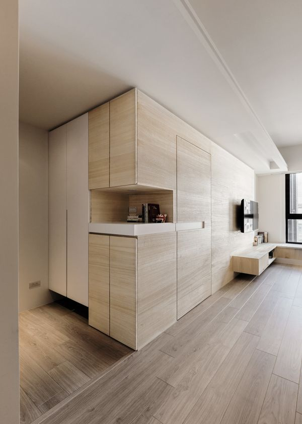 INDOT | XINGZHUANG APARTMENT by Hey!Cheese, via Behance