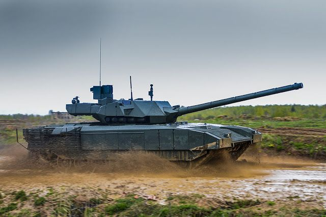 Military and Commercial Technology: Russian defense manufacturer to wrap up initial tests for T-14 Armata tank in 2018
