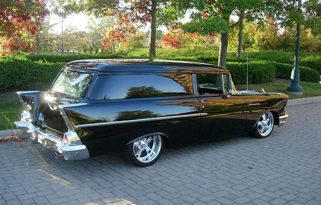 Featured: 1957 Chevrolet Sedan Delivery For Sale | Hotrodhotline.com