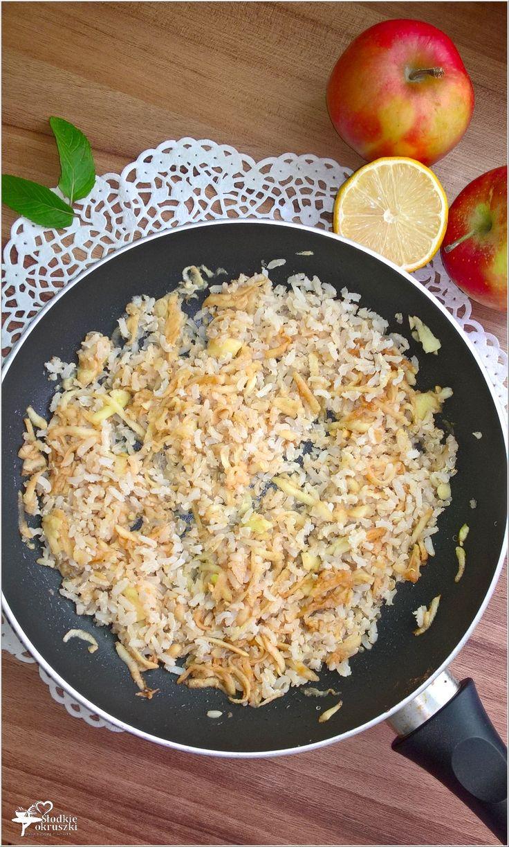 Quinoa z ryżem i jabłkami