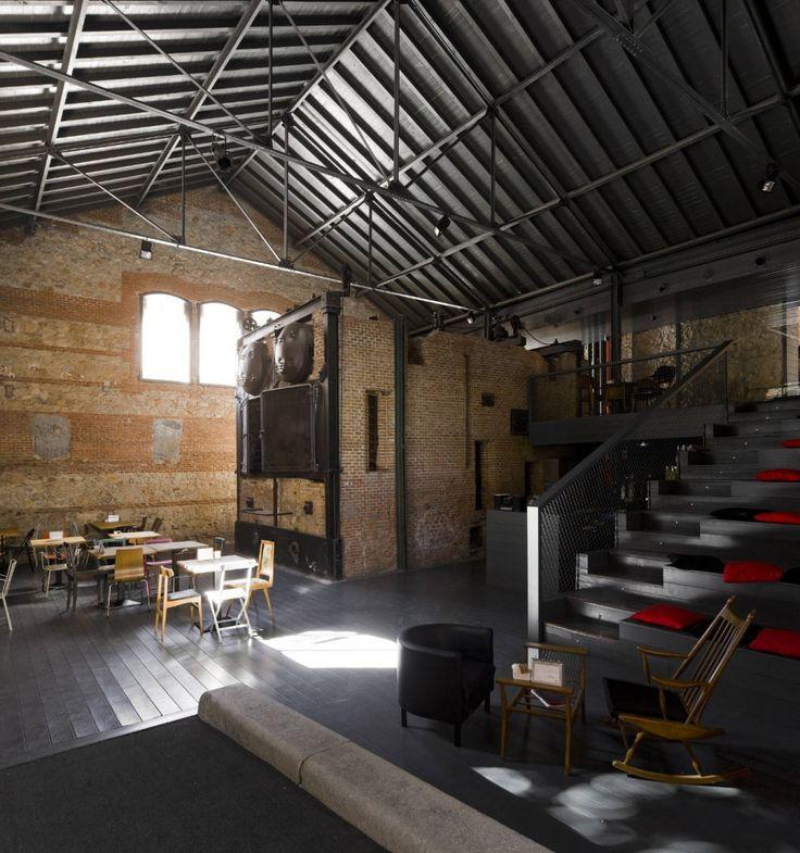 Cinema Center in Matadero de Legazpi / ch qs arquitectos