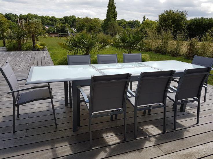 Les 25 meilleures id es de la cat gorie table jardin extensible sur pinterest table - Terrasse jardin simple nimes ...