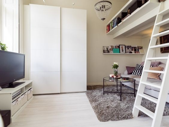 The 25+ best Einzimmerwohnung einrichten ideas on Pinterest ...