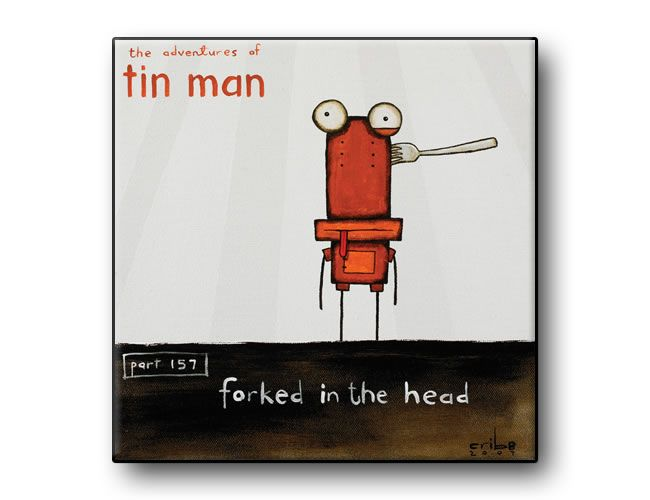 Forked in the Head by Tony Cribb - tin_man