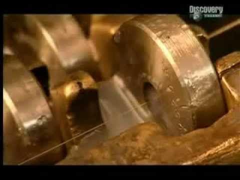 ▶ Cómo se hacen las cadenas de oro - YouTube