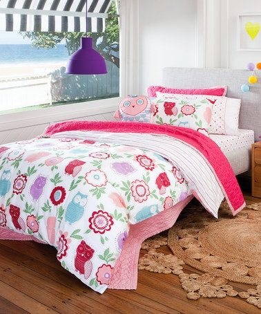 Pretty Owl Double Bed Set by Sheridan Bedding Sets on #zulilyUK today!