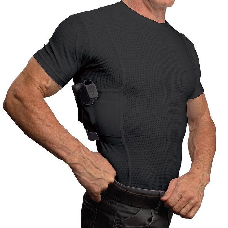 Men's Coolux Concealed Carry Crew Neck Shirt - UnderTech UnderCover