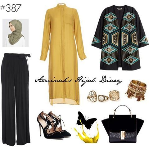 Modern with a touch of ethnic - by the way that jacket from #hm is on sale Details on aminahshijabdiary.wordpress.com #modestfashion #modestwear #modesty #modestclothing #modest #fashion #fashionlover #fashionaddict #fashionista #love #look #lookbook #mystyle #style #outfit #outfitoftheday #ootd #aminahshijabdiary