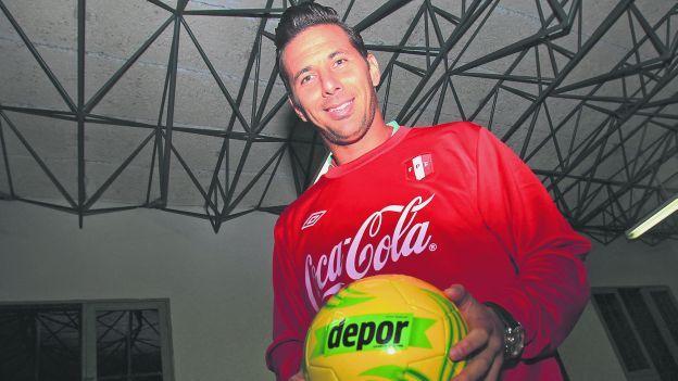 """Claudio Pizarro: """"Josep Guardiola ha visto los partidos de Perú en Eliminatorias"""""""