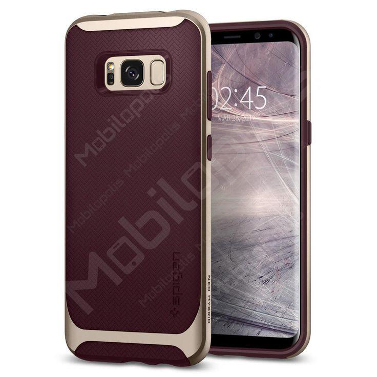 Kryt na Samsung Galaxy S8 Spigen Neo Hybrid černo vínový | Mobilopolis.cz