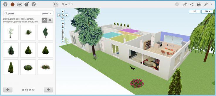 Beste online programma's voor het inrichten van je woonkamer.
