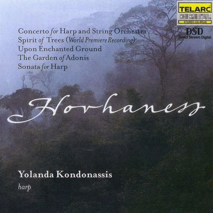 Alan Hovhaness {1911-2000} (2000) Yolanda Kondonassis - Harp Concerto [Telarc] | 1076 hovhaness