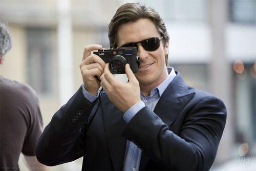 .Celebritiesmoviestarstv Stars, Christian Bale, Celebrities Cameras, Analog Cameras, Leica M8, Cameras Buff, Leica M9, Bale Men, People