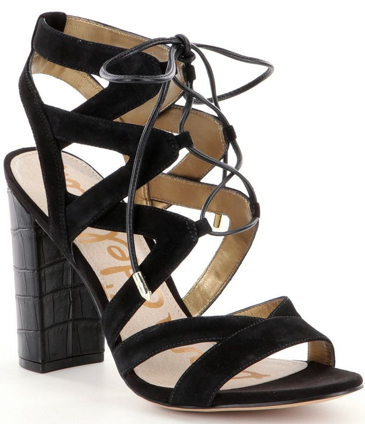 Sam Edelman Yardley Ghillie Sandals