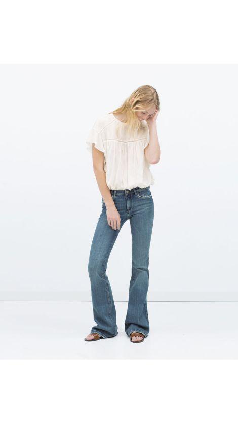 Flared jeans de Zara en http://decharcoencharco.com/2015/09/28/mi-lista-de-la-compra-para-esta-temporada-otono-invierno-todas-las-tendencias/