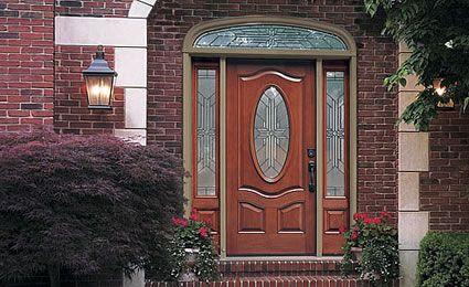 Therma-Tru Doors: Fiberglass Entry Door Systems - Classic-Craft Mahogany - 8 Foot Doors