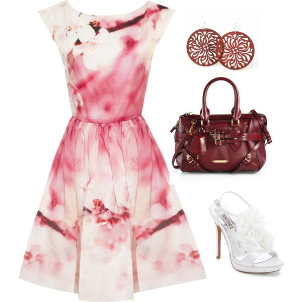 """""""Wedding guest outfit"""" by martilynnred on Polyvore"""