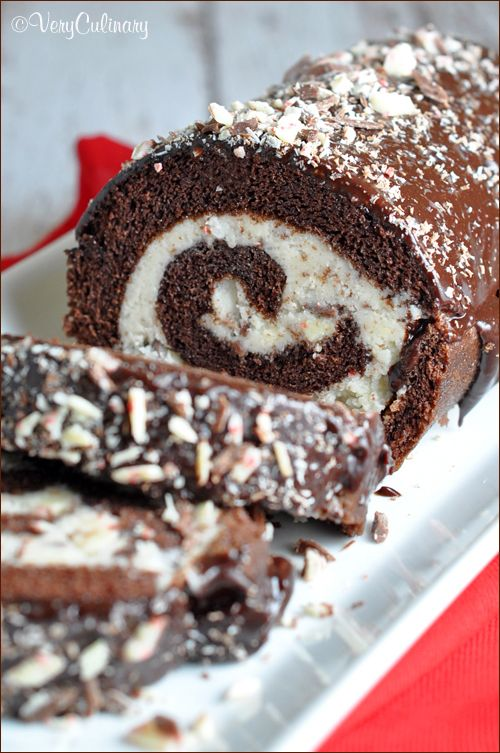 Chocolate Peppermint Roll Cake Easy Enough For Every Day