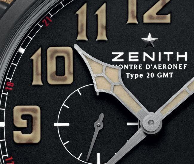 El reloj Zenith Pilot Montre d'Aéronef Type 20 GMT 1903 nos hace levantar el vuelo