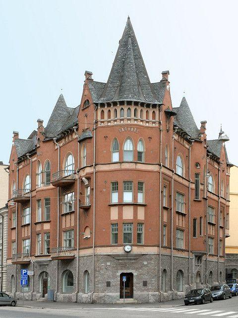 Jugend style - Art Nouveau in Katajanokka, Helsinki