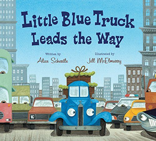 Little Blue Truck Leads the Way board book by Alice Schertle http://www.amazon.com/dp/0544568052/ref=cm_sw_r_pi_dp_UDvqwb1Y1NPPE