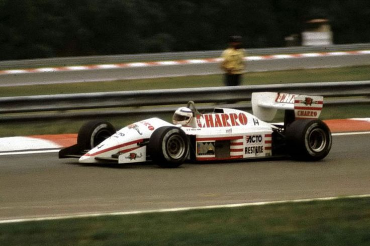 1987 GP Węgier (Hungaroring) AGS JH22 - Ford (Pascal Fabre)