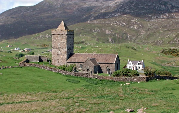 St Clements Church/Tur Chiliamainn in Rodel dates back to ...