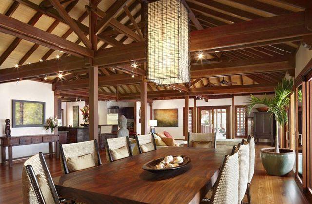 Tropical luxury interior design kauai hawaii bali for Bali interior design