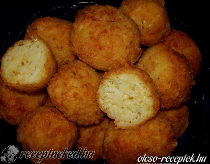 A legjobb Sajtos sült rizsgolyók recept fotóval egyenesen a Receptneked.hu gyűjteményéből. Küldte: Vass Lászlóné