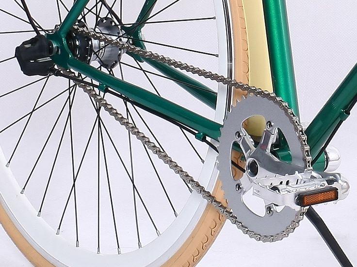 Alley Cat Verde Marfil. A sólo $199.990. Elegancia y rapidez gamabikes.com