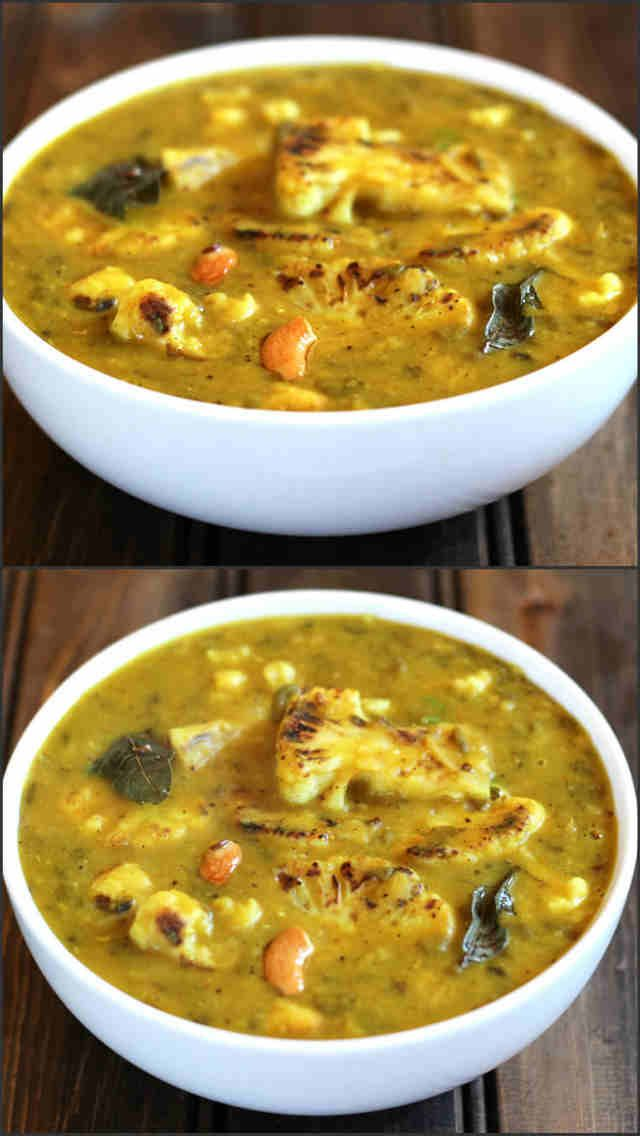 Cauliflower Dal. #Vegan. #Glutenfree.