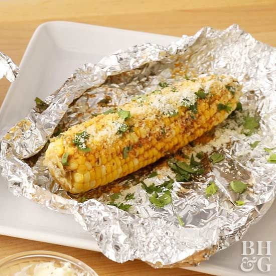 Coat corn on the cob with a flavorful compound butter and pop in the slow cooker!