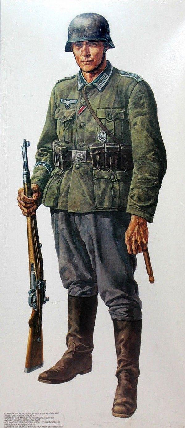 """WEHRMACHT - Grenadier della Panzer-grenadieren Division """"Grossdeutschand"""""""