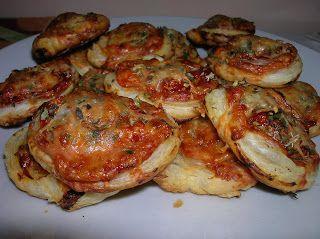 Mandy kertje és konyhája: Gyors pizzás csiga