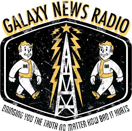 Okay, Fallout 3 is a game I play a lot, and good god does it get scary. I mean you fight off mutants, raiders and at one point you get involved a a quest inspired by the Cthulhu Mythos. So naturally this game is going to be dark. What's the one thing that lifts the mood? Galaxy News Radio of course! My god does the in game radio help you keep your sanity. Something about music from the 40's and 50's just calms a guy down