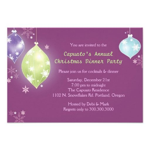 28 best images about Dinner Party Invitations – Christmas Dinner Party Invitations