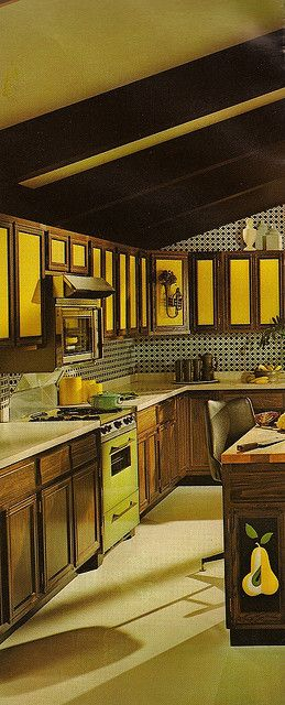 1970s Architectural Digest. Guess our kitchen was in trend after all.