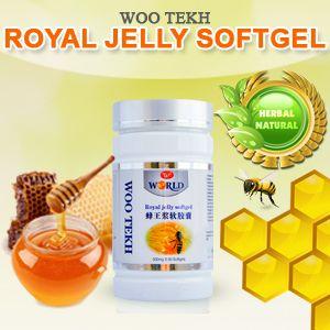Suplemen Obat Herbal Royal Jelly untuk asma, demam, liver, pankreatitis, insomnia, sindrom pramenstruasi, kulit dan kolesterol tinggi