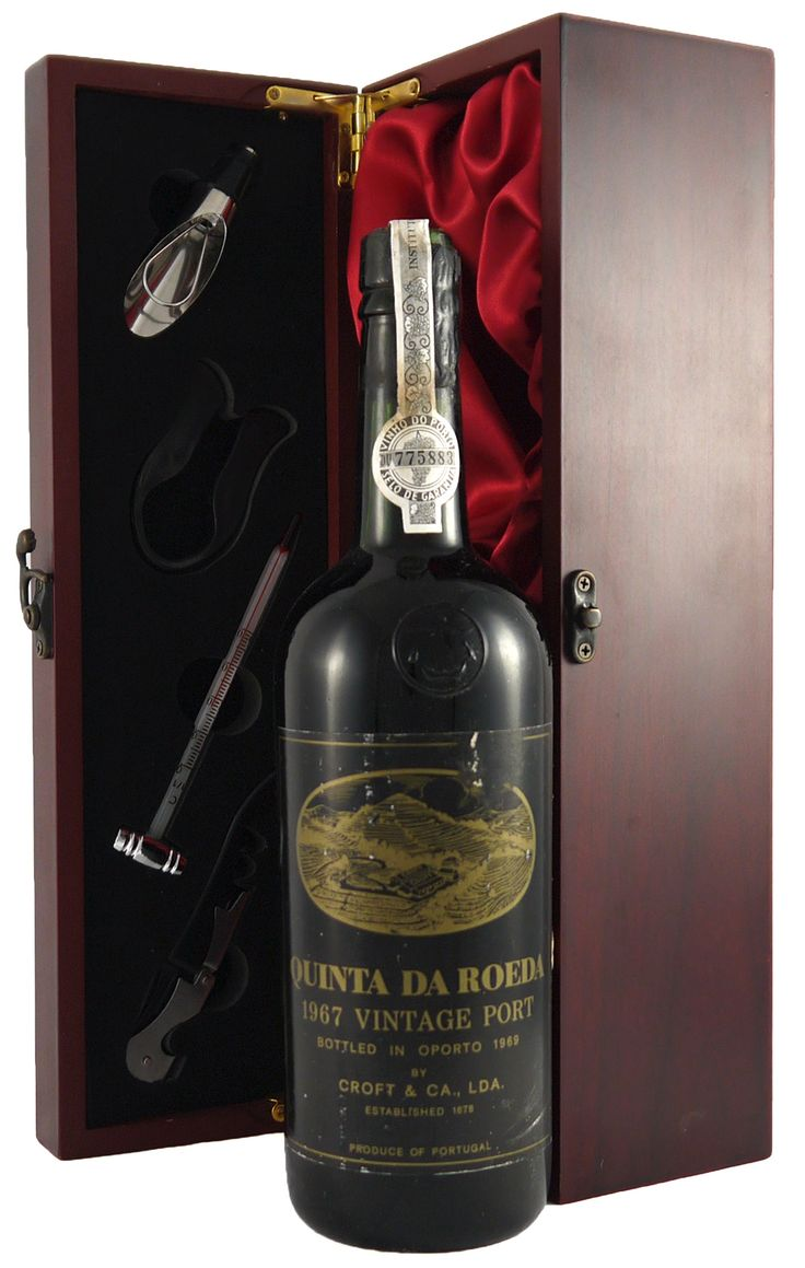 1967 Croft Quinta Da Roeda Vintage Port   This Croft  #vintage #port is soft and creamy with a harmonious nose and is sweet with a crisp fruit flavour.